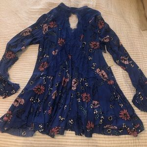 Altar'd state blue flower dress
